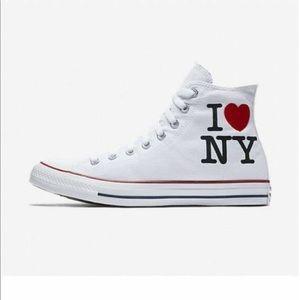 Converse Chuck Taylor I Love New York White 7, 10